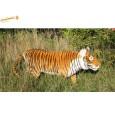 Peluche Tigre brun 160 cm L