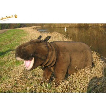 Peluche Hippopotame 120 cm L