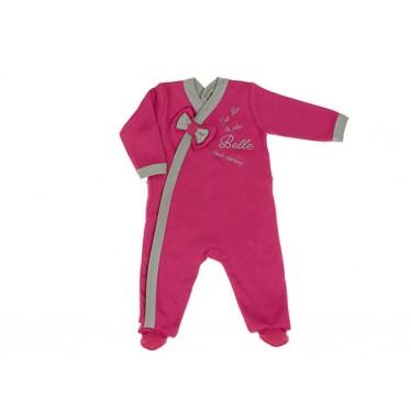 pyjama fille framboise 18 mois la plus belle. Black Bedroom Furniture Sets. Home Design Ideas