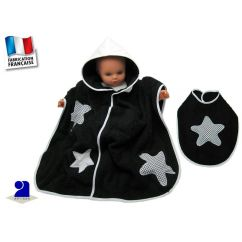 http://cadeaux-naissance-bebe.fr/4404-6669-thickbox/poncho-de-bain-bebe-bavoir-vichy-noir-et-blanc-0-2-ans.jpg