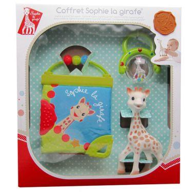 Coffret cadeau Sophie la girafe vert