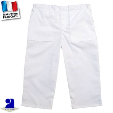 Pantalon deux poches 0 mois-10 ans Made in France