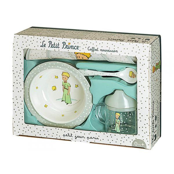 coffret repas le petit prince nourrisson. Black Bedroom Furniture Sets. Home Design Ideas