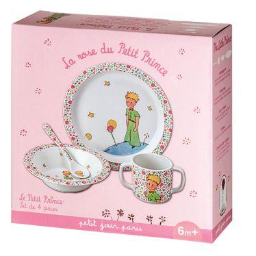 Coffret repas La rose du Petit Prince