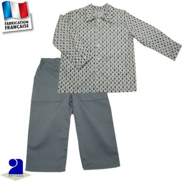 Pantalon + chemise Made in France