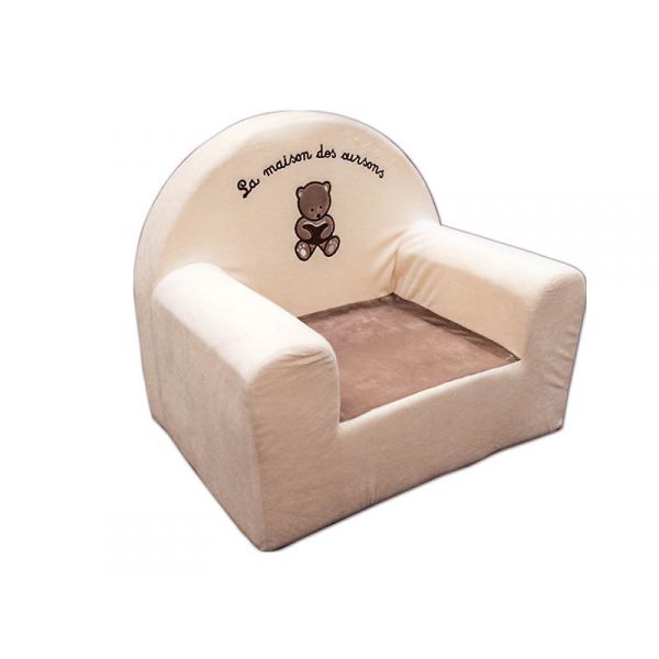 fauteuil club enfant ourson chic. Black Bedroom Furniture Sets. Home Design Ideas
