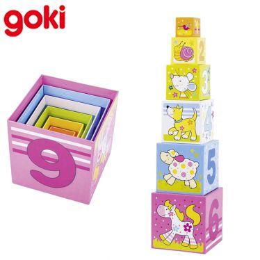 Cubes à empiler en carton