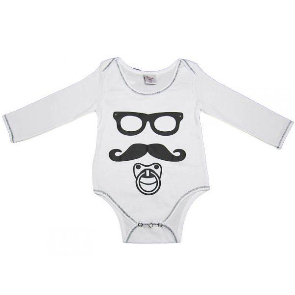Body b b moustache 18 mois blanc - Bebe 18 mois ...