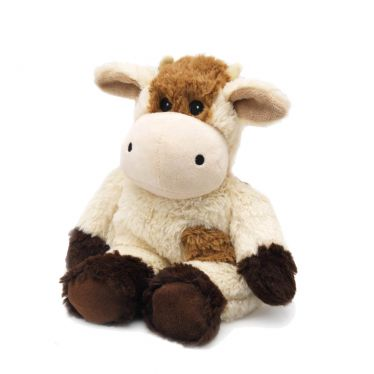 Bouillotte peluche Vache marron
