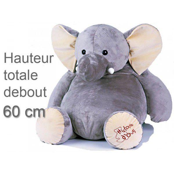 Peluche Geante Elephant : peluche g ante el phant 60 cm ~ Teatrodelosmanantiales.com Idées de Décoration
