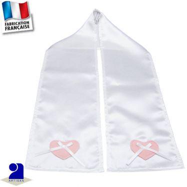 Etole-écharpe cérémonie brillante coeur Made in France