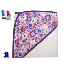 http://cadeaux-naissance-bebe.fr/4874-10128-thickbox/carre-de-bain-75-x-75-cm-blanc-et-mauve-fleurs.jpg
