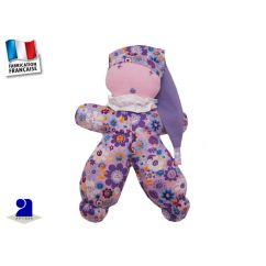 http://bambinweb.com/4885-10157-thickbox/poupee-chiffon-coton-fleurs-coloris-mauve.jpg