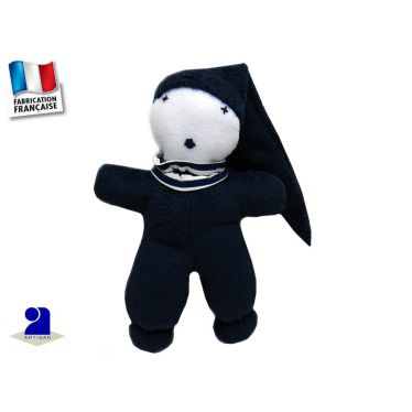 Doudou en polaire Marin Made In France