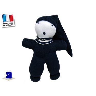 Doudou en polaire Marin Made In France