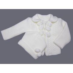 http://cadeaux-naissance-bebe.fr/5028-10659-thickbox/cardigan-bebe-et-bonnet-en-tricot-acrylique-blanc.jpg