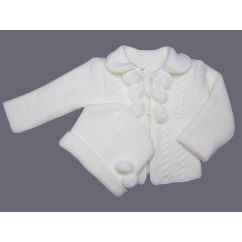 http://bambinweb.com/5028-10659-thickbox/cardigan-bebe-et-bonnet-en-tricot-acrylique-blanc.jpg