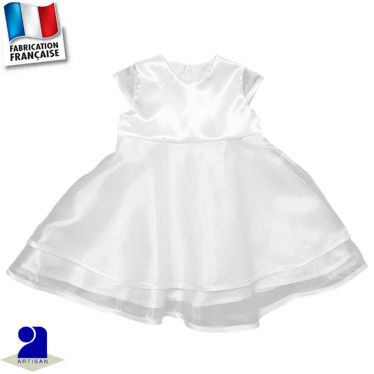 Robe volantée Made in France