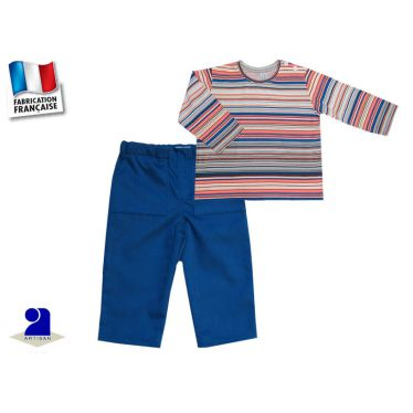 Pantalon et T-shirt manches longues Made In France