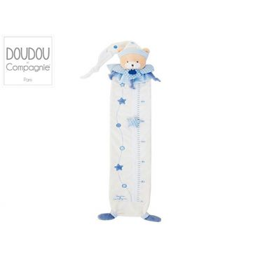 Toise en velours Ours bleu collection Petit Chou