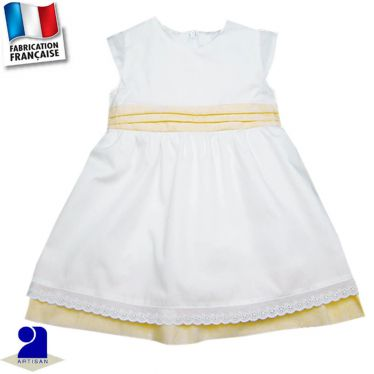 Robe deux jupons Made in France