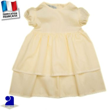 Robe volantée 0 mois-10 ans Made in France