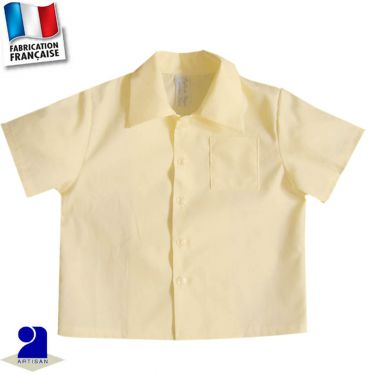 Chemise 0 mois-10 ans Made in France