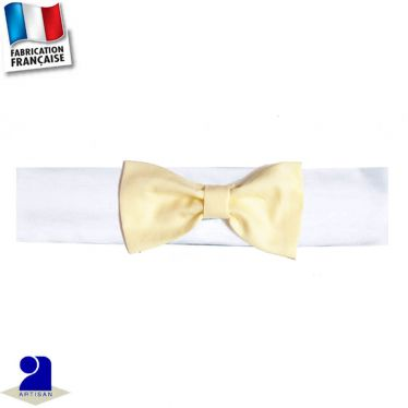 Bandeau cheveux noeud Made in france