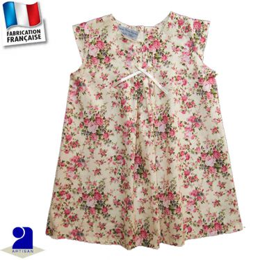 Robe trapèze 0 mois au 10 ans Made in france