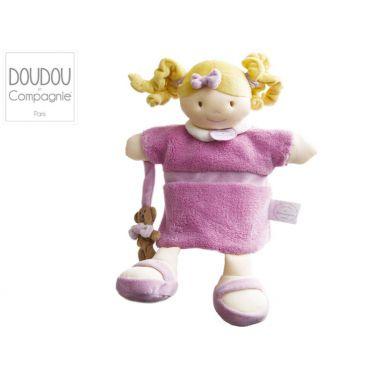 Doudou-marionnette poupée