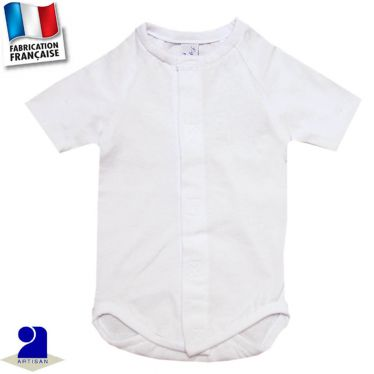 Body manches courtes Made in France