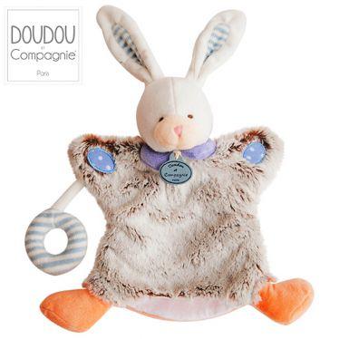 Marionnette Choupi Doudou lapin