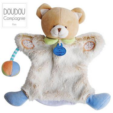 Marionnette Choupi Doudou ours