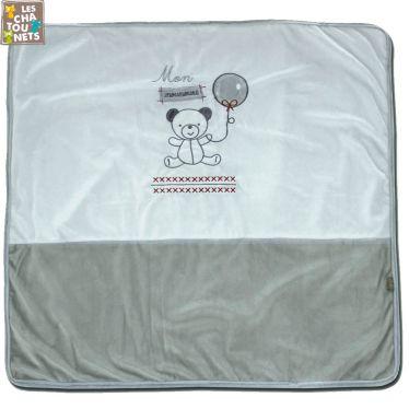 Couverture bébé polyester 80 x 80 cm