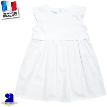 Robe et ceinture amovible, Made in France
