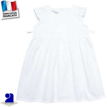 Robe manches courtes 0 mois-10 ans Made in France