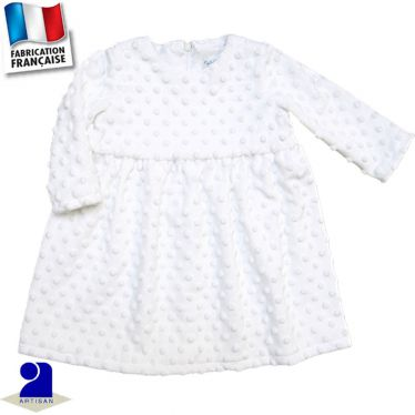 Robe manches longues Made in France