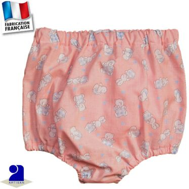 Bloomer imprimé oursons Made in France