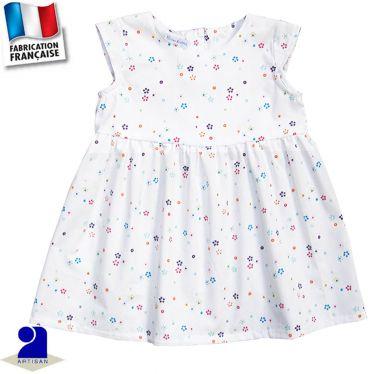 Robe imprimé fleurs Made in France