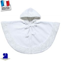 Cape avec capuche 0 mois-5 ans Made in France