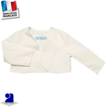 Boléro-Gilet court 0 mois-10 ans Made in France
