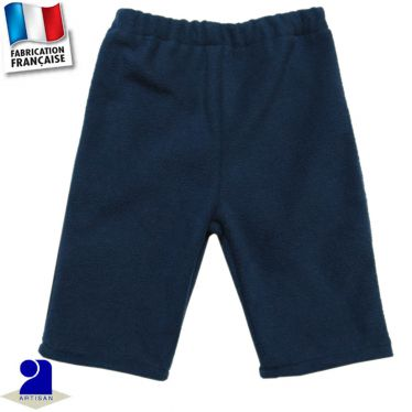 Pantalon uni chaud 0 mois-2 ans Made in France