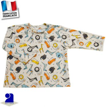 T-shirt manches longues Made in France