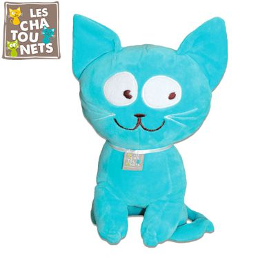 Peluche chat nomade