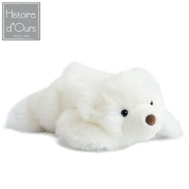 Peluche ours des neiges, collection Signature 30 cm