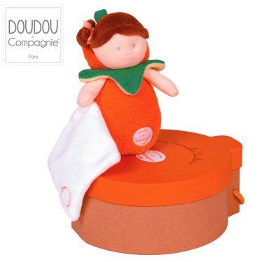Doudou Melle Orange- Les demoiselles Douillettes