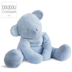 Pantin Ours bleu 70 cm