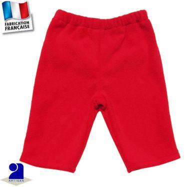 Pantalon uni chaud 0 mois-2 ans Made in France