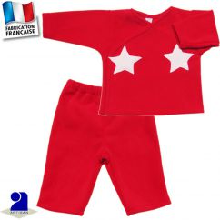 Pantalon+gilet chaud 0 mois-2 ans Made in France