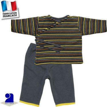 Pantalon+gilet chaud Made in France